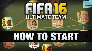 Video LET'S PLAY FIFA 16 - #1 'HOW TO START' - FIFA 16 ULTIMATE TEAM RTG download MP3, 3GP, MP4, WEBM, AVI, FLV Desember 2017