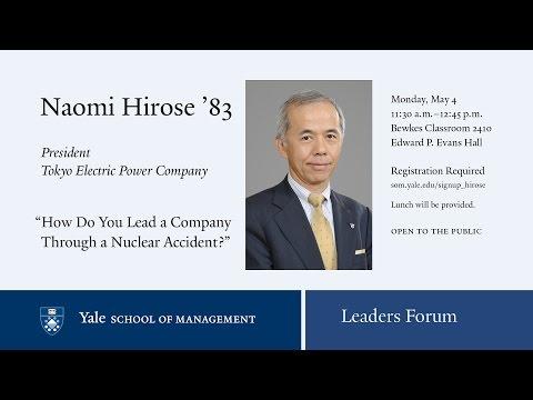 Naomi Hirose, Tokyo Electric Power Co.