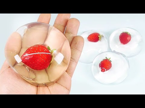 Save How To Make Edible Strawberry Raindrop Cake (水信玄餅) Pictures