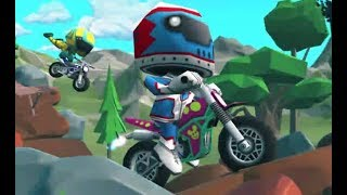 Moto Trial Racing Game Walkthrough Level 1-2