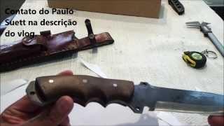 Faca Imperia  Cuteleiro Paulo Suett  ELV357