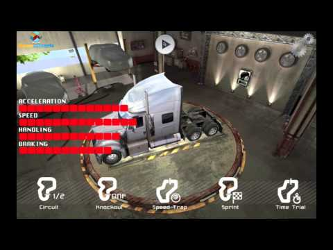 Real Truck Racing iOS & Android Gameplay from Gamecoresudio
