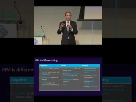 Martin Schroeter, CFO, IBM, presents at the CEO Investor Forum, February 2017