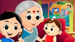 Nani Nani Suno Kahani - Hindi Rhymes   नानी नानी सुनो कहानी   Hindi Nursery Rhymes for Children