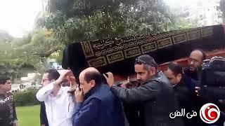 جنازة محمود القلعاوي وغياب الفنانين