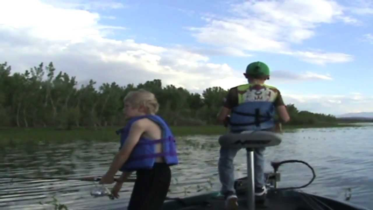 The boys and i fishing lake lowell youtube for Lake lowell fishing