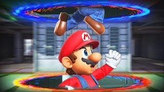Breaking Smash Bros with Portals