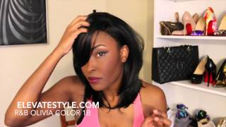 How I Style & Curl My Synthetic Wigs/ Make them look natural