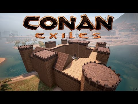 Conan Exiles - Building Bodiam Castle