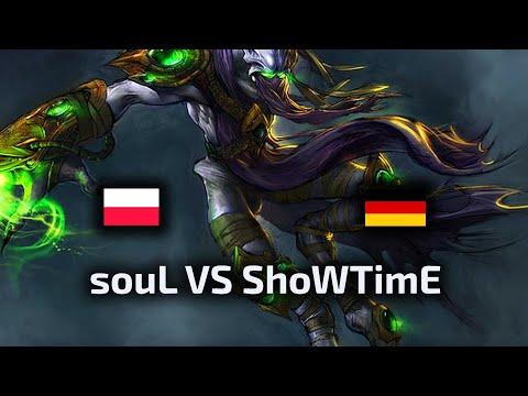 souL VS ShoWTimE - TvP - WardiTV 2020 European League - polski komentarz