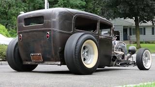 $37,500 - 1928 Ford Model A 2 Door Sedan For Sale Killer Hot Rod OVER $80,000 Invested!!