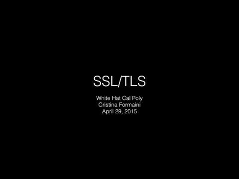 SSL/TLS  -- Cristina Formaini