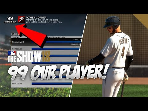 How To INSTANTLY Get A 99 OVR Player In MLB The Show 18 Road To The Show