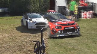 Ogier vs. Hirvonen (Same test road)