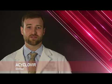 Acyclovir or Zovirax Medication Information (dosing, side effects, patient counseling)