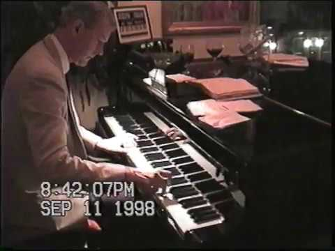 Jos Frank on his full time house gig Grand Piano - Horsham PA., Friday, Sept. 11, 1998