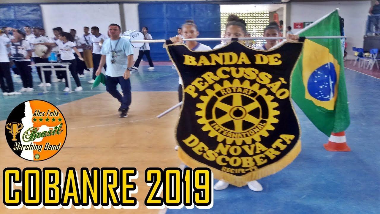 BANDA DE PERCUSSÃO ROTARY NOVA DESCOBERTA 2019 - COBANRE 2019 - CONCURSO DE BANDAS DO RECIFE 2019