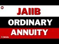 Annuities Ordinary Annuity Future value and present value in Hindi