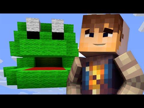FROG KING! | Build Battle | Minecraft