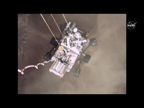 Incredible Perseverance Mars landing video explained by NASA