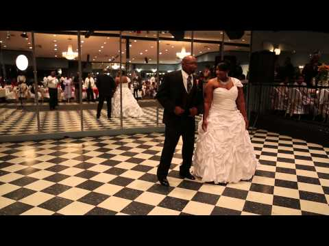 Father & Daughter Wedding Dance - Tene Staley Blackwell  and James Staley