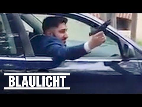 Hochzeitsgast schießt im Autokorso um sich - Täter stellt sich der Polizei / wedding gunfire