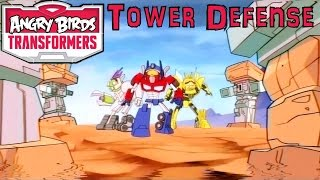 Angry Birds Transformers Launches 15th Oct - Tower Defense Game-Play?