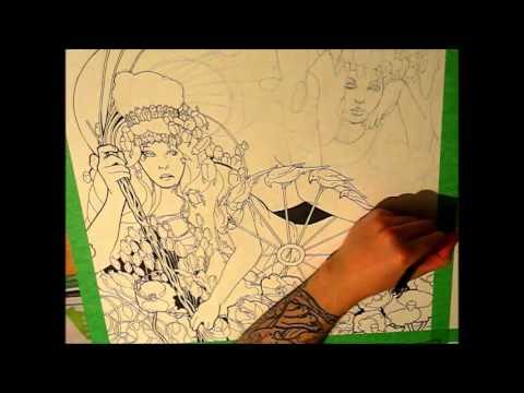 Baroness - Red Album Speedpainting