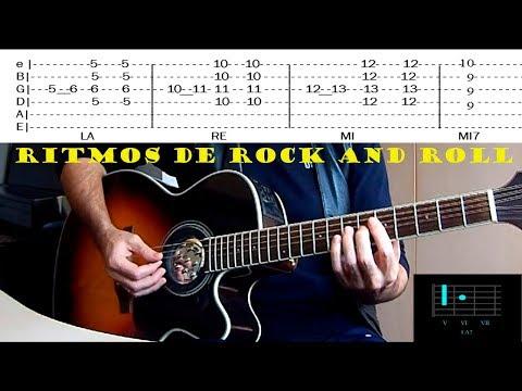 COMO TOCAR | Ritmos de Rock and roll