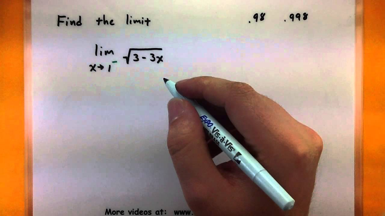 worksheet One Sided Limits Worksheet calculus how to find the value of a one sided limit using equation youtube