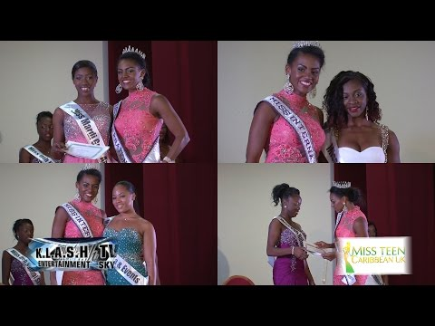 Miss Teen Caribbean 2014 fashionshow