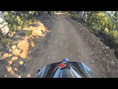 2 Stroke Enduro Trail Riding. GOPRO