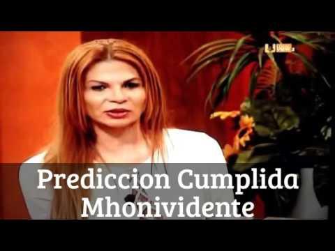 Prediccion Cumplida Mhonividente OTRA DESGRACIA EN LA VOZ MEXICO