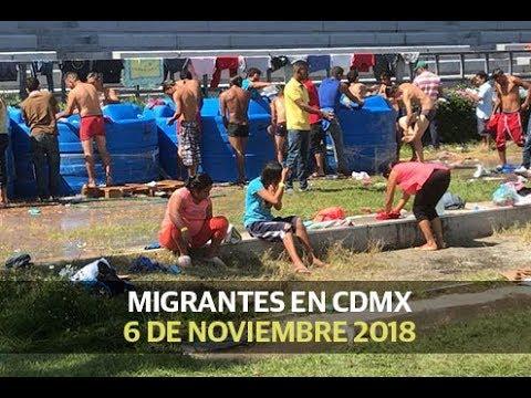 Ya son 4 mil 500 migrantes en CDMX