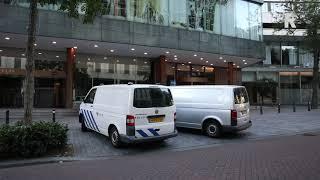 Verdachte Hania opgepakt in Hilton Hotel (Beelden: Video Duivestein)