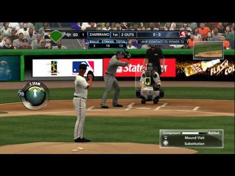 MLB 2K12 Gameplay: Miami Marlins vs. San Diego Padres