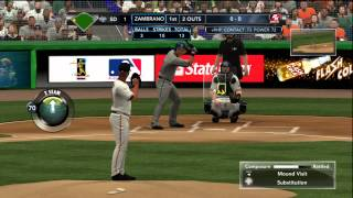 MLB 2K12 Gameplay: Miami Marlins vs. San Diego Padres