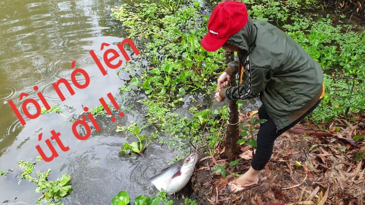 Hậu trường kinh hoàng Vạn Nguyễn kéo con cá khổng lồ trong mưa