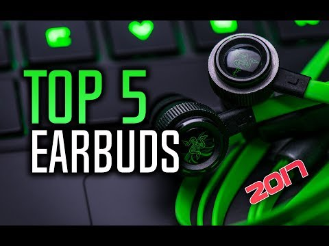 ▶️ Best Earbuds in 2017 with Reviews!