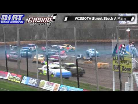 Casino Speedway 5 18 14 WISSOTA Street Stock Races