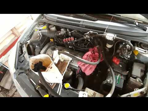 Промивка радіатора печки Geely MK