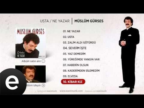 Kibar Kız (Müslüm Gürses) Official Audio #kibarkız #müslümgürses
