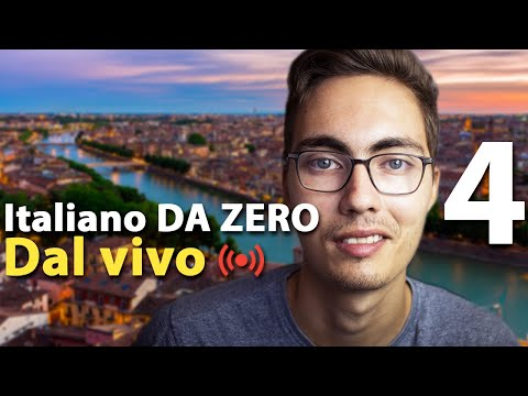 Italiano DA ZERO 4 - Months, dates, numbers - Italian for absolute beginners LIVE