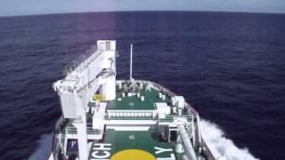 Sailing to Tristan da Cunha