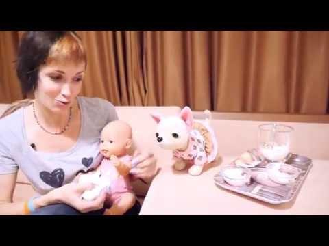 Как МАМА. Серия 5. Готовим йогурт, играем с куклой и укачиваем малыша на фитболе