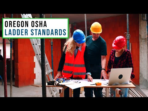OSHA Standards For Ladders | Division 3M, 2D, Fall Protection, Safety, Hazards, Oregon OSHA
