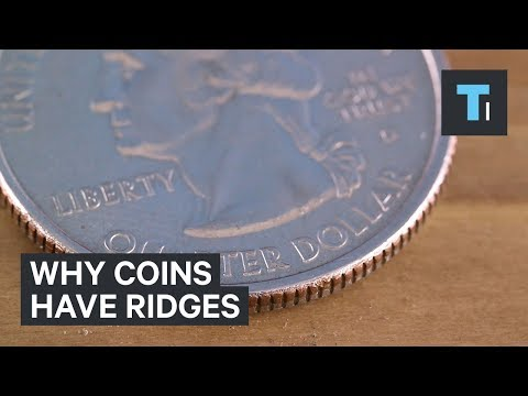 Thumbnail: Here's why some coins have ridges on their side