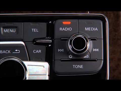 2012 Audi A8 MMI media entertainment 720p Desktop