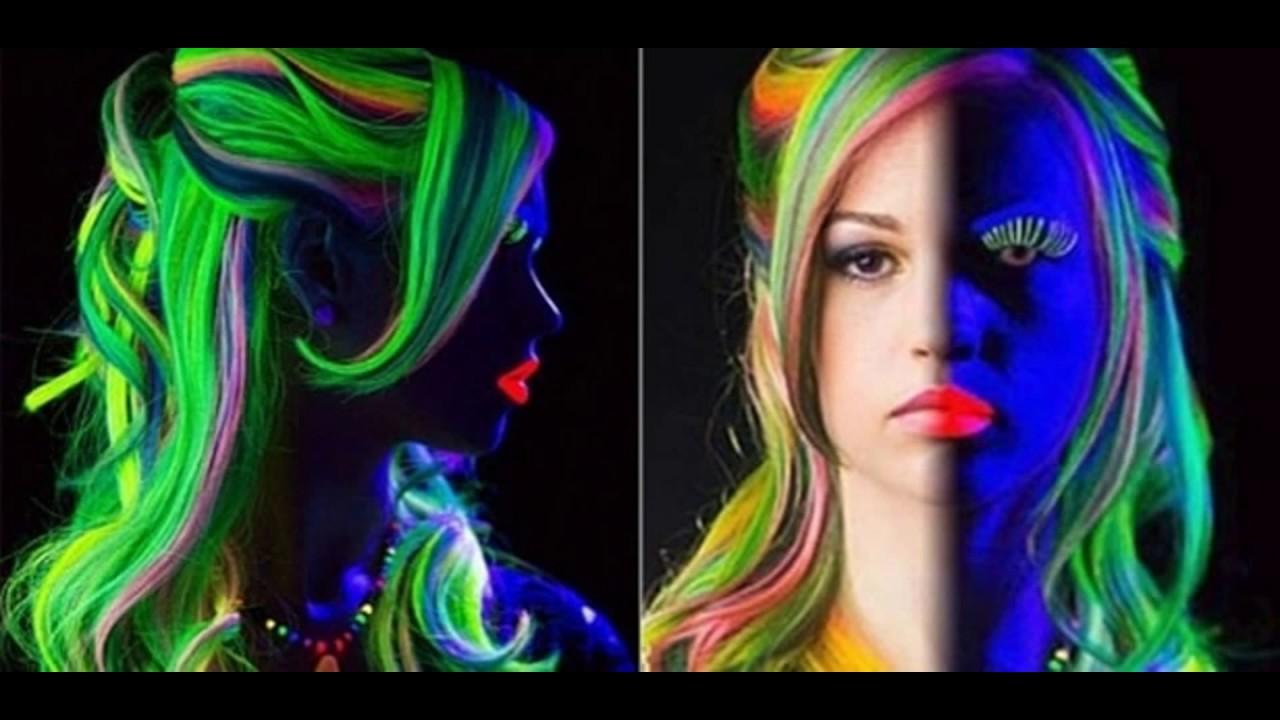 Suficiente Fotos de Maquiagem Neon Uma Mais Linda Que a Outra - YouTube WP67