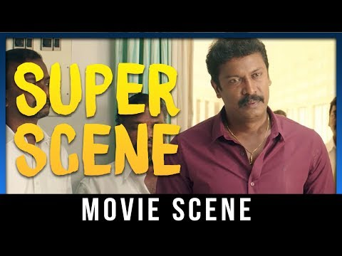 Thondan - Super Scene | Samuthirakani | Vikranth | Sunaina